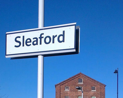 Sleaford sign