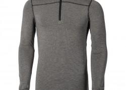 Goldfreeze® Coffee Carbon 1/2 Zip  Long Sleeve Vest