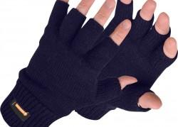 Fingerless Knitted Glove