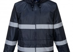 Classic Rain Jacket with Reflective Tape