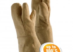 Gloves made of PBI fabric