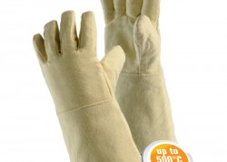 Gloves made of Aramid woven fabric