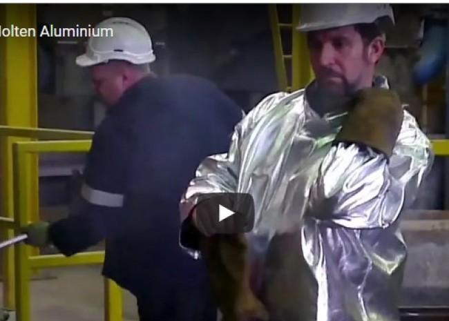 LEarning BLogs - Man v Molten Aluminium